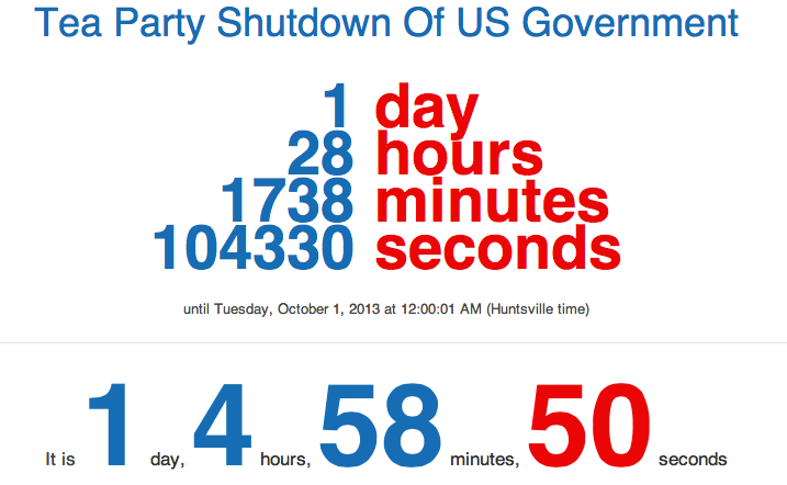 countdown timer 1 minute