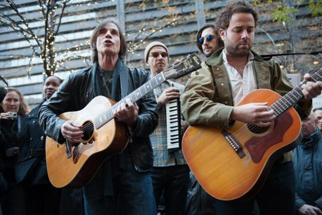 Jackson Browne and Dawes