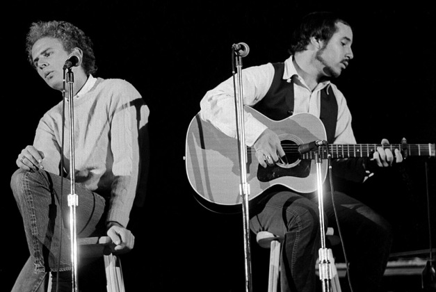 Simon and Garfunkel concert Ohio University 10-29-1968
