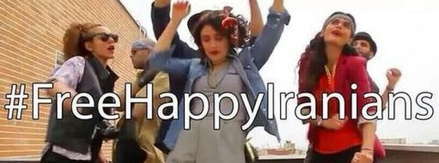 Free Happy Iranians